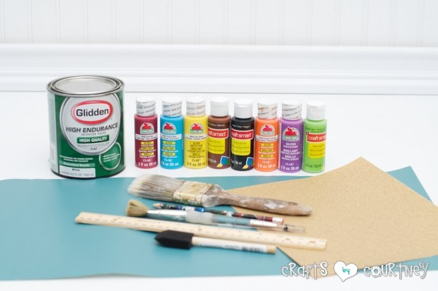 Pottery Barn Knockoff: Jumbo Watercolor Palette - Getting Started