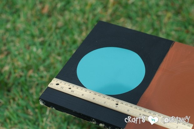 Pottery Barn Knockoff: Jumbo Watercolor Palette - Line up your circles