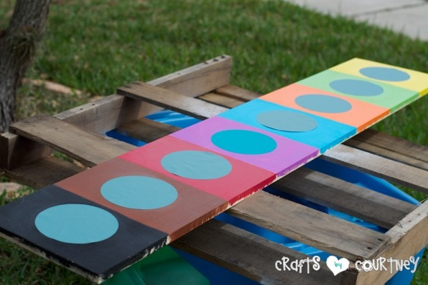 Pottery Barn Knockoff: Jumbo Watercolor Palette - Add your circles