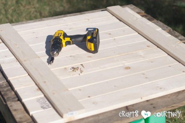 DIY Wooden Pallet: Put Your Pallet Together