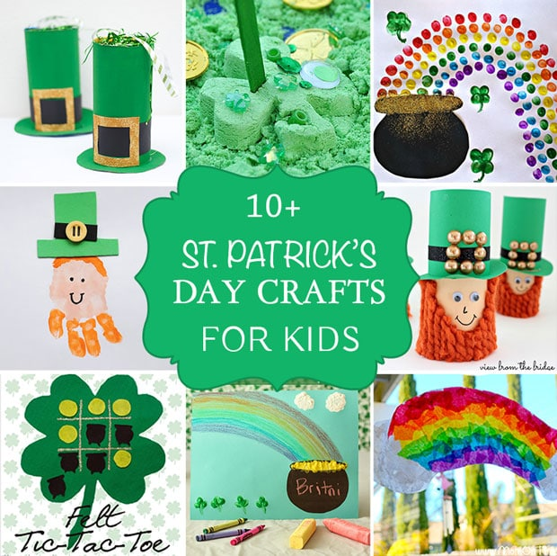 10+ Fun St. Patrick's Day Crafts and Activities for Kids