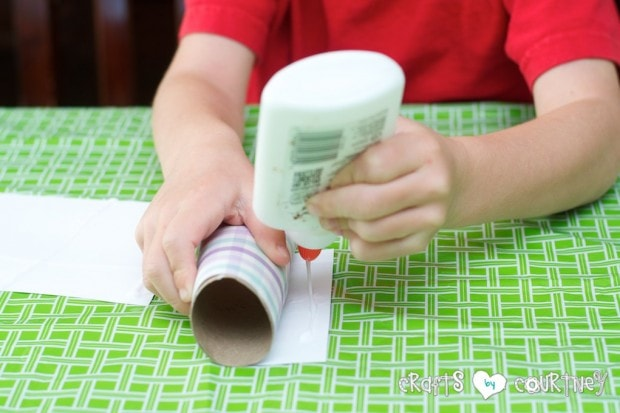 Toilet Paper Roll Easter Rabbits: Add Your Glue