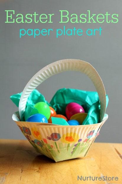 12 Super Clever DIY Easter Basket Crafts
