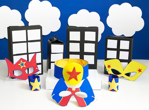 Super-crafty superhero party for kids