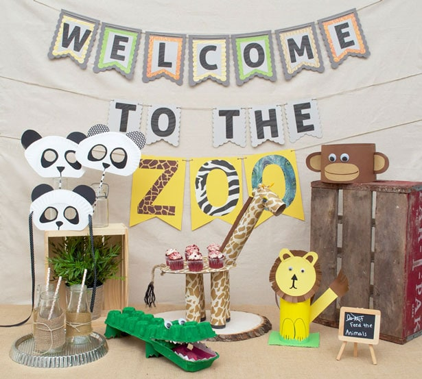 A Fun Zoo-themed Craft Party for Kids