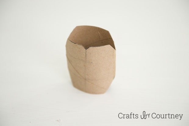 TMNT toilet paper roll finger puppet step 2