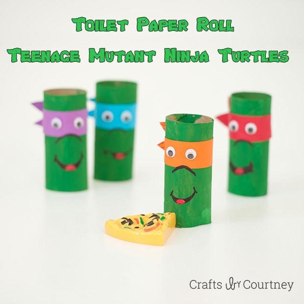 Toilet Paper Roll Teenage Mutant Ninja Turtles