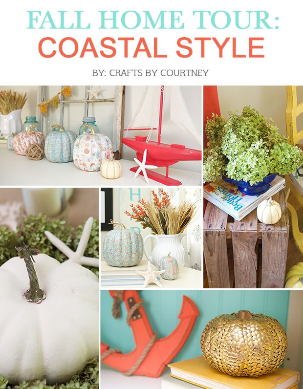 Fall Home Tour: Coastal Style!!