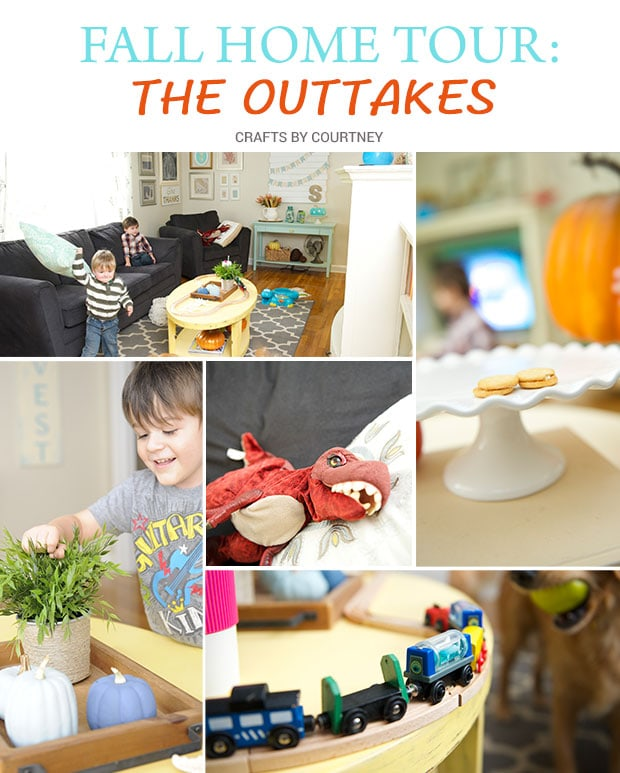 Fall Home Tour – The Outtakes!