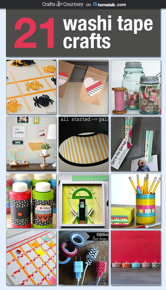 21 Creative Hometalk Washi Tape Crafts