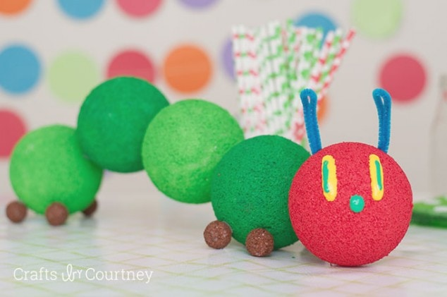 The Very Hungry Caterpillar Birthday Centerpiece