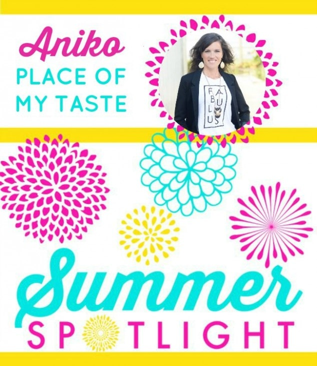 Summer Spotlight – Aniko from Place of my Taste