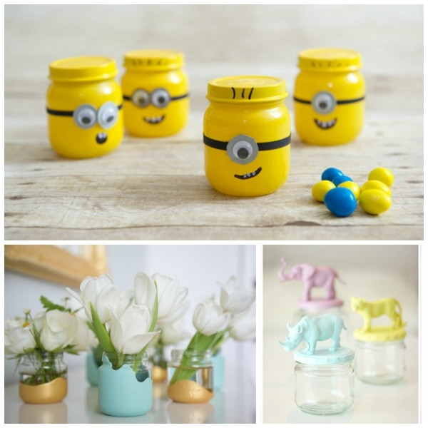 baby food jar crafts 20 creative uses for baby food jars 3403