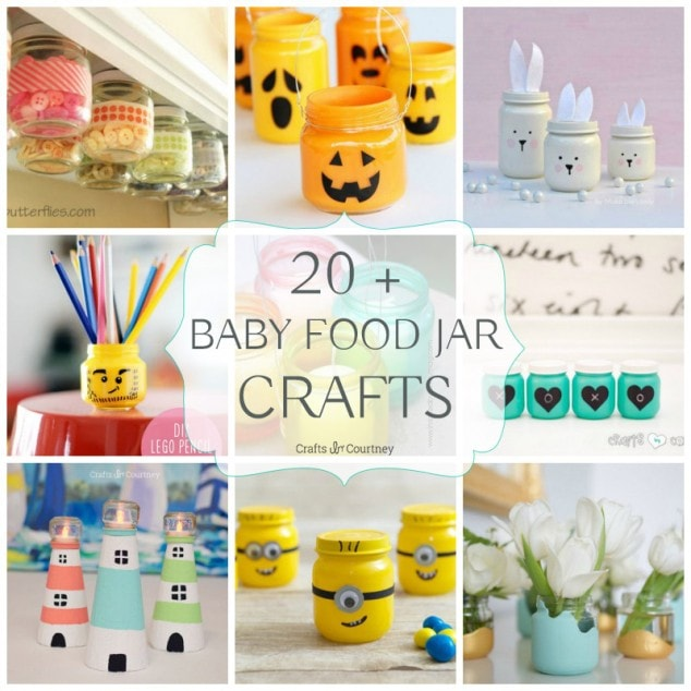 20+ Baby Food Jar Crafts