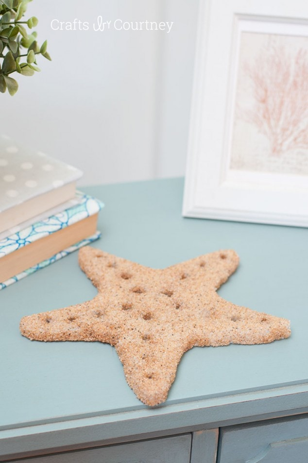Beach Craft: DIY Foam Starfish Craft