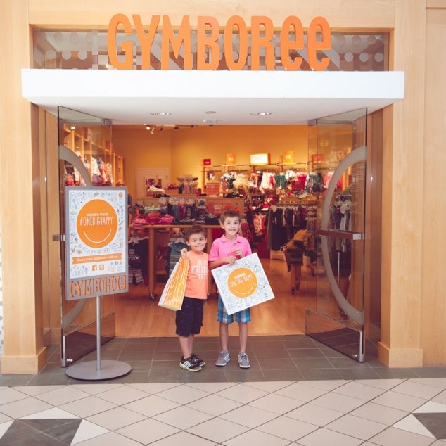 Back to School Clothes Shopping with Gymboree