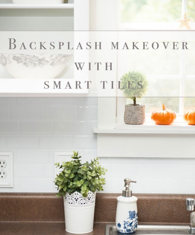 Backsplash Makeover with Smart Tiles