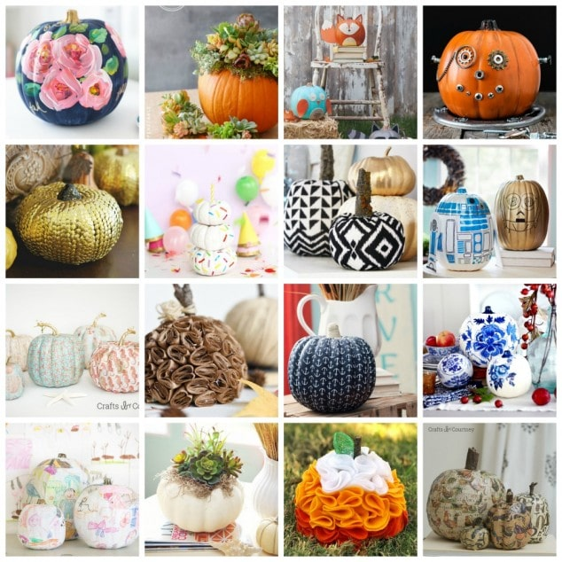 30+ DIY Pumpkin Decorating Ideas
