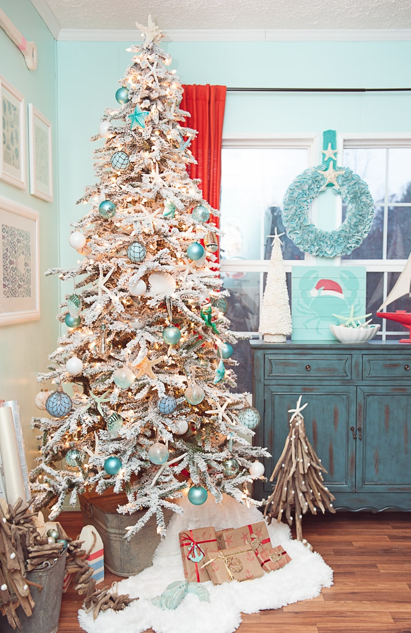 My Coastal Christmas Treetopia Design Council 2016
