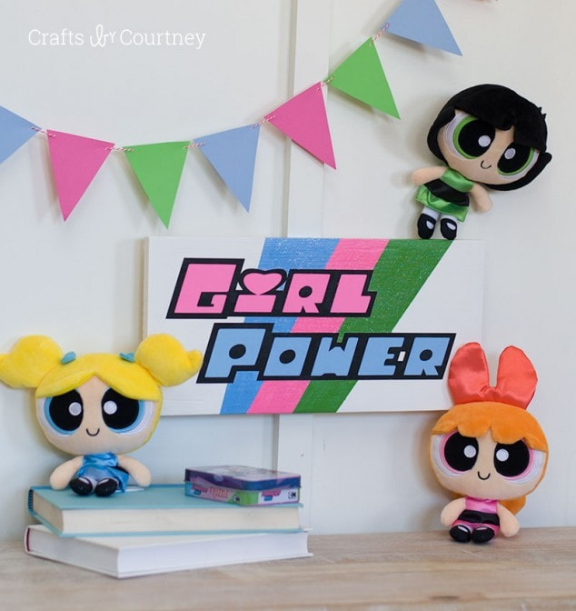 DIY Powerpuff Girls Craft