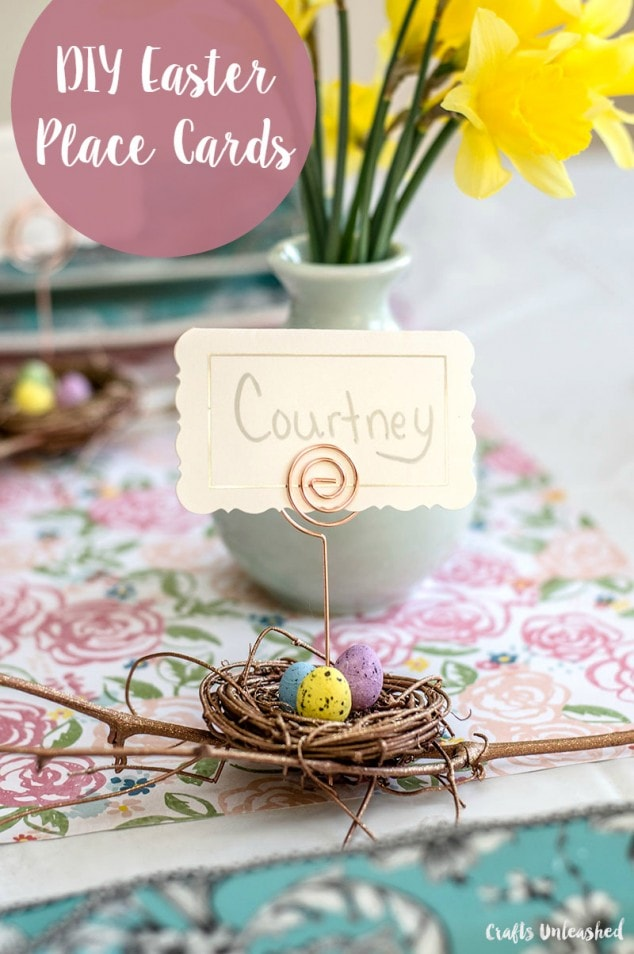 DIY Place Cards for Easter