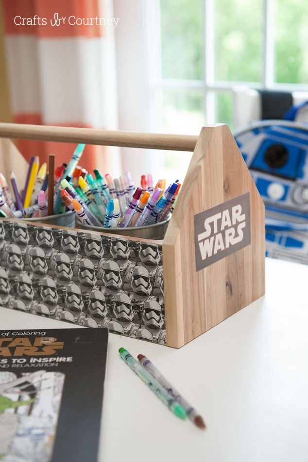 STAR WARS CRAFT: IKEA TOOL BOX MAKEOVER