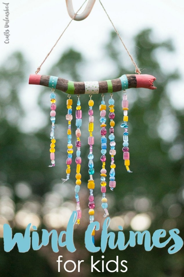 diy wind chime ghost craft diy windchimes design decoration 6467