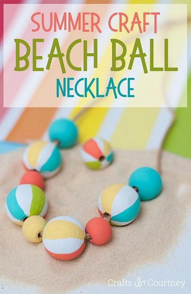 Beach Ball Necklace