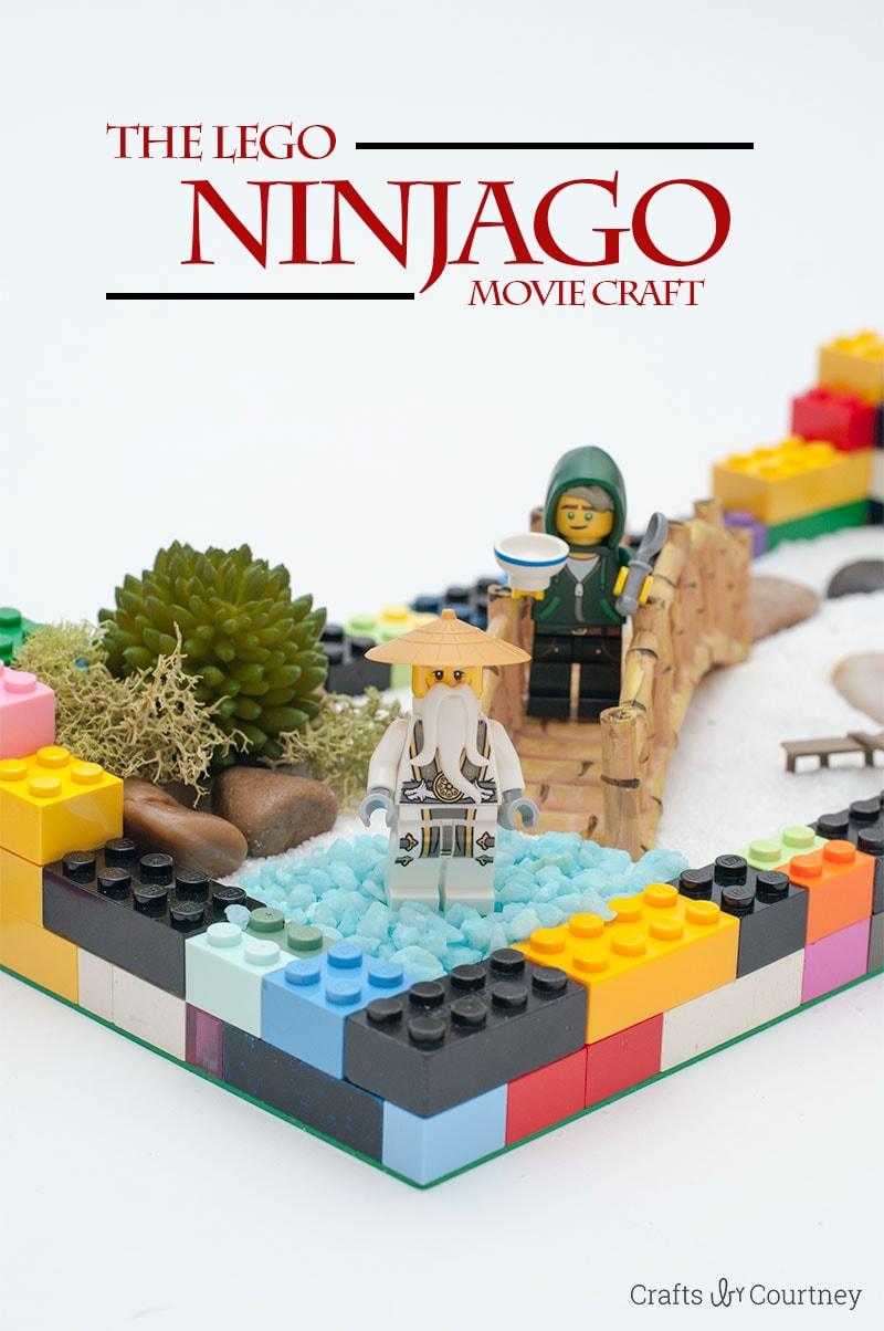 The Lego Ninjago Movie Craft Lego Craft