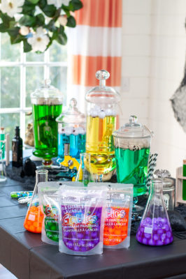 Halloween Mad Scientist Party with Goblies