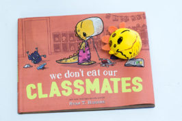 DIY Stress Ball - We Don't Eat Our Classmates Book