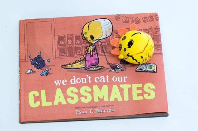 DIY Stress Ball – We Don't Eat Our Classmates Book