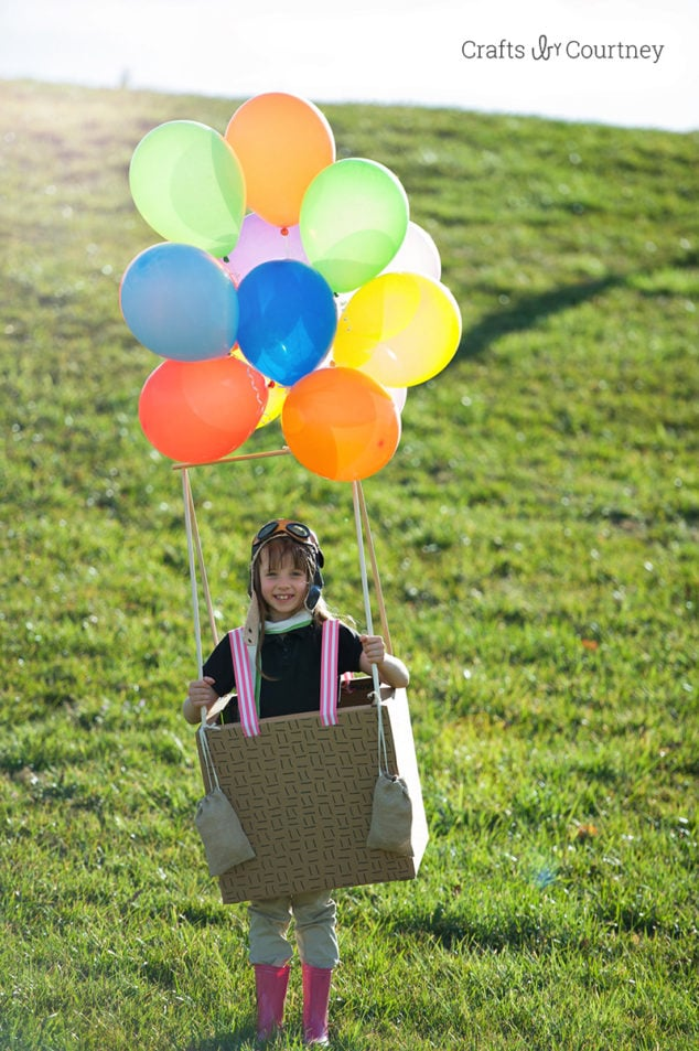 Hot Air Balloon Costume for Halloween