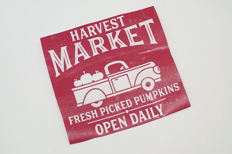 Textured Fall Sign