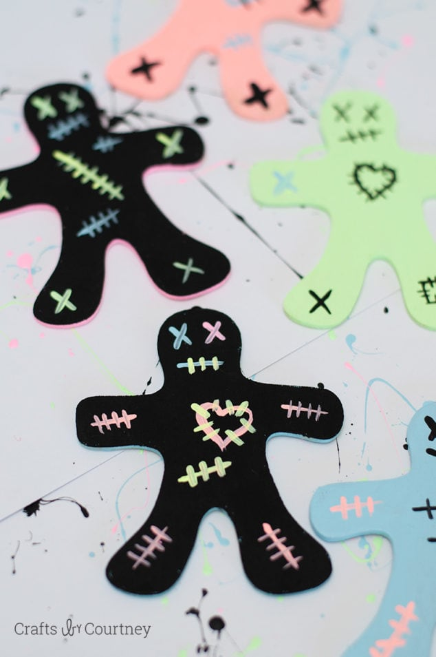 Gingerbread Zombie Craft for Kids
