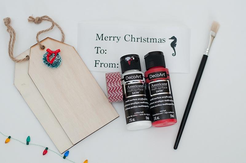 NAUTICAL STYLE DIY CHRISTMAS GIFT TAGS