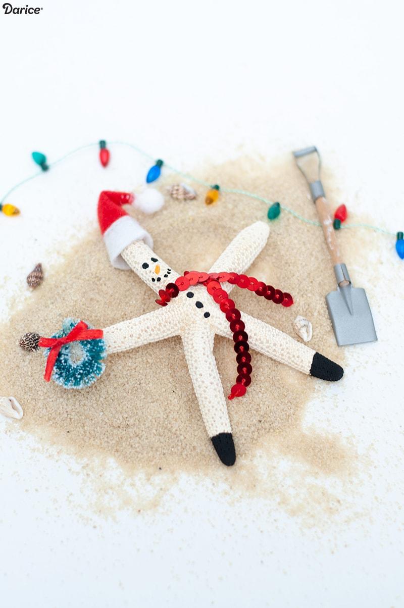 Christmas Starfish Craft for Kids