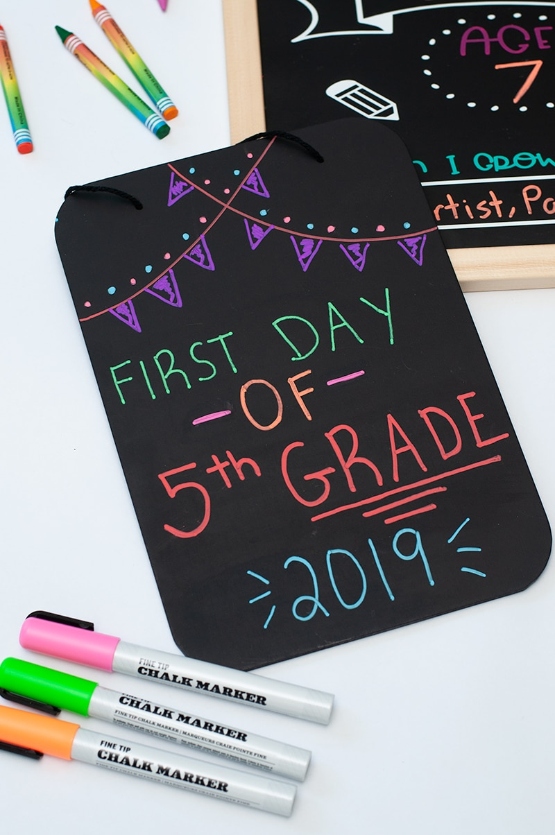 diy back to school signs5