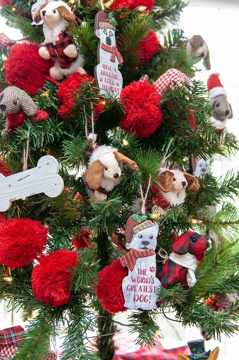 Tree Themes Table Top Dog Christmas Tree Darice Blog
