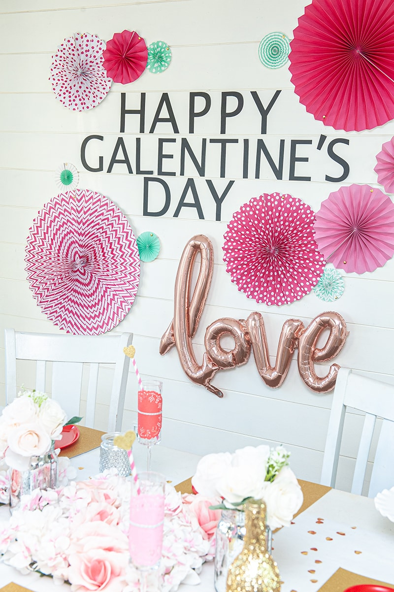 Galentine's Day brunch party - Darice 13